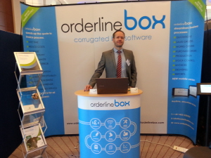 Corrugated box software at SPA trade show